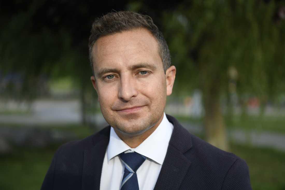 Tomas Tobé, Moderaternas rättspolitiske talesperson.