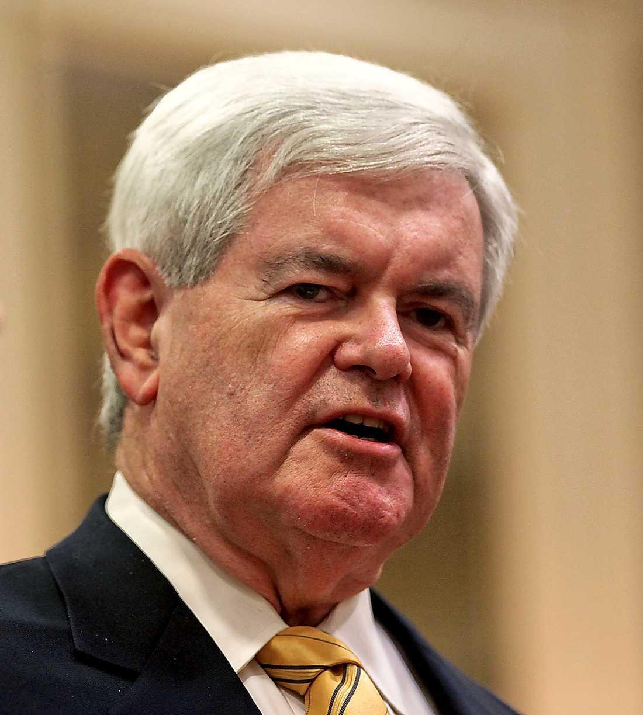 FRONT RUNNER Newt Gingrich har gått från uträknad till favorittippad i kampen om vem som ska få utmana Barack Obama i presidentvalet.
