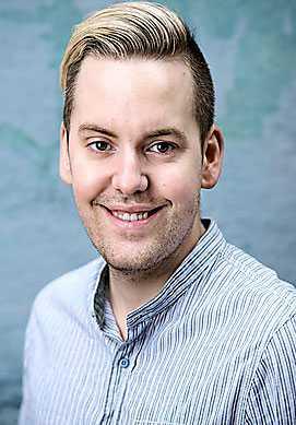 Mattias Kristiansson är chefredaktör för Sveriges första helt vegetariska mattidning Vego och driver en av Nordens största vegobloggar.
