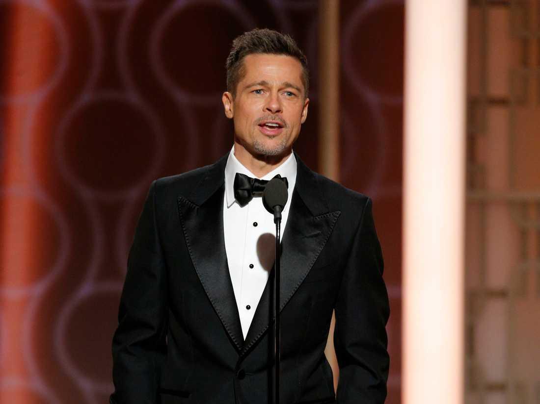 Brad Pitt gjorde ett bejublat framträdande på Golden Globe