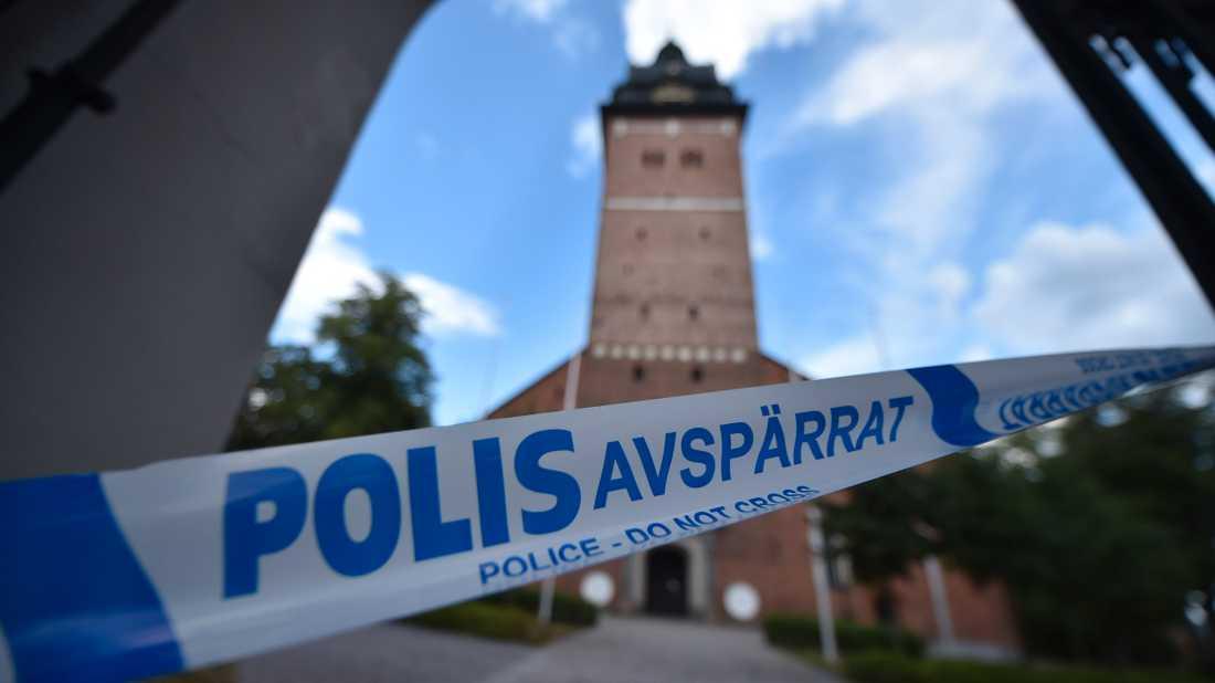 En 26-årig man blir den andre att åtalas för kuppen mot Strängnäs domkyrka. Enligt åklagaren var han med och genomförde stölden av de kulturhistoriskt ovärderliga begravningsregalierna. Arkivbild.