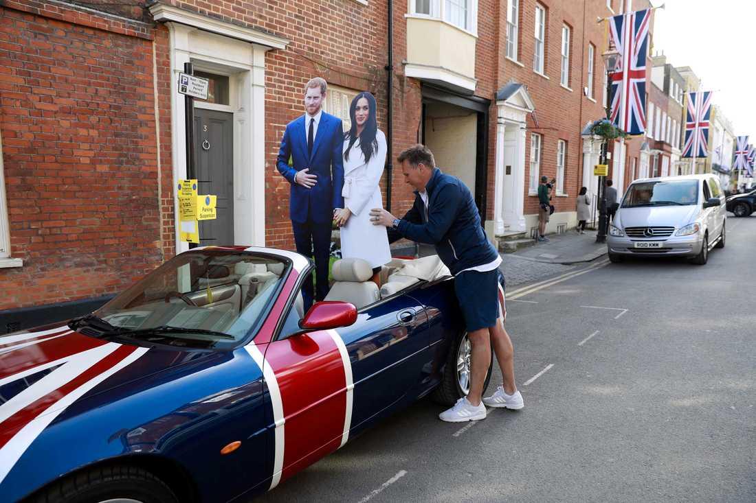 Kunglig yra inför bröllopet mellan prins Harry och Meghan Markle.