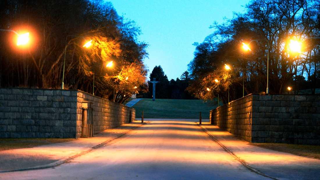 Skogskyrkogården i Stockholm.