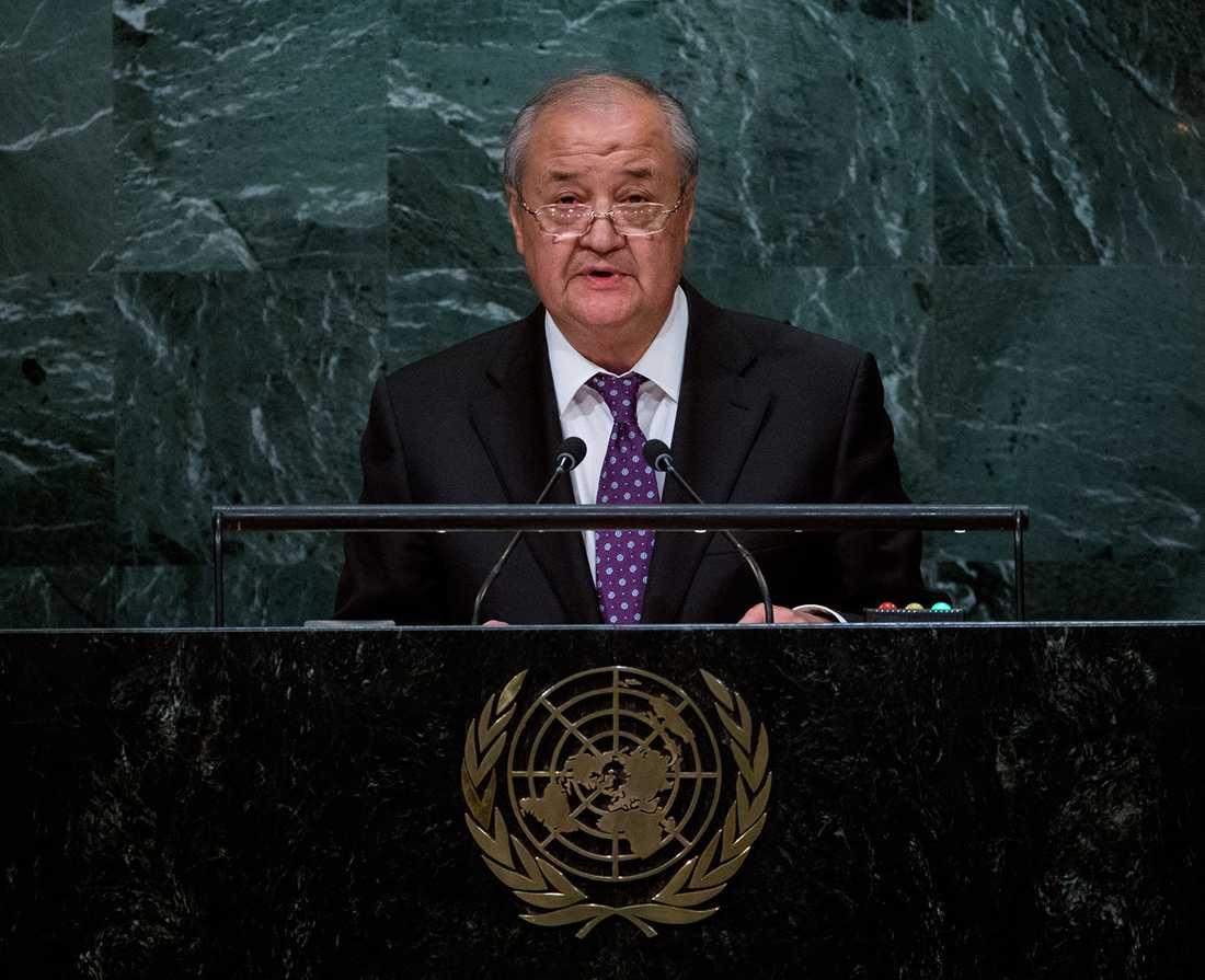 Uzbekistans utrikesminister Abdulaziz Kamilov.