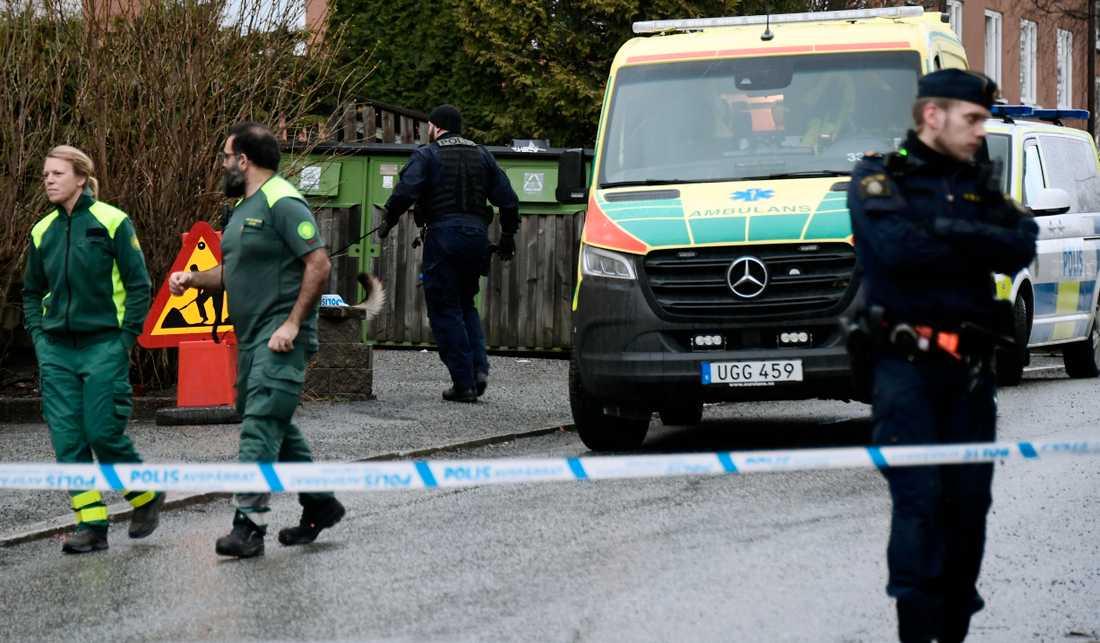 Polisen har upprättat en förundersökning om mord.
