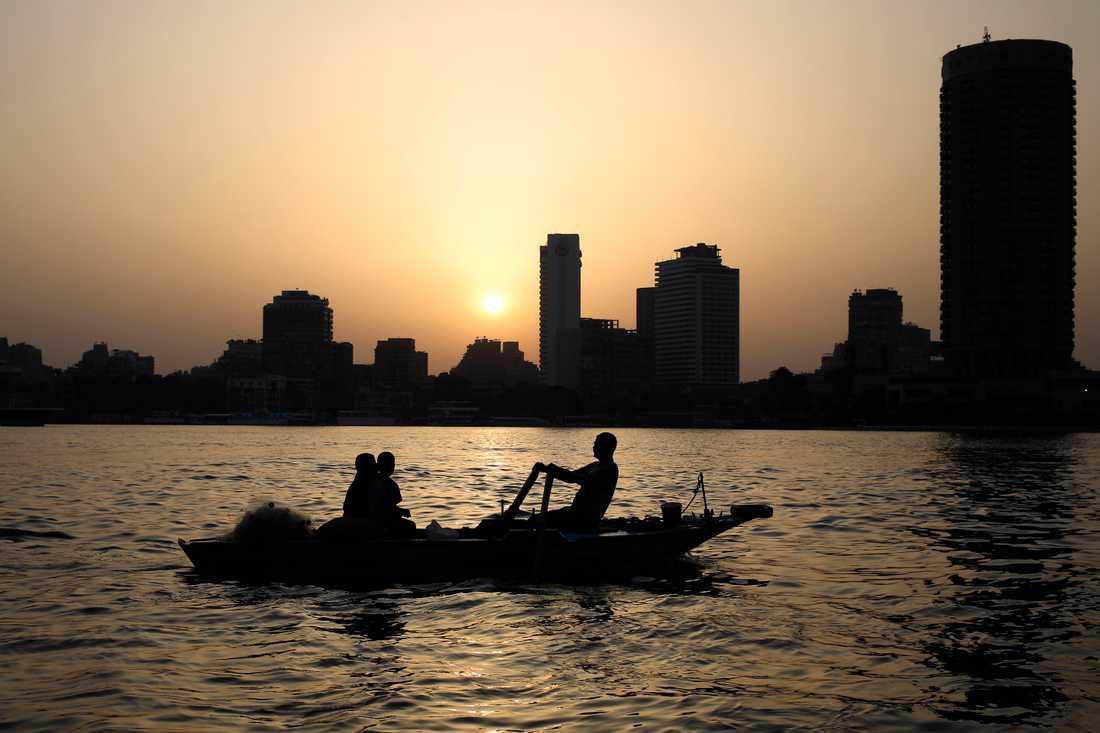 Nilens vattennivå kan hotas av dammbygget i Etiopien. Arkivbild.
