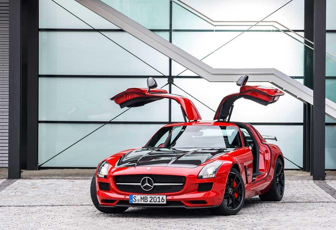 """Mercedes SLS AMG GT, här i sin """"Final Edition""""."""