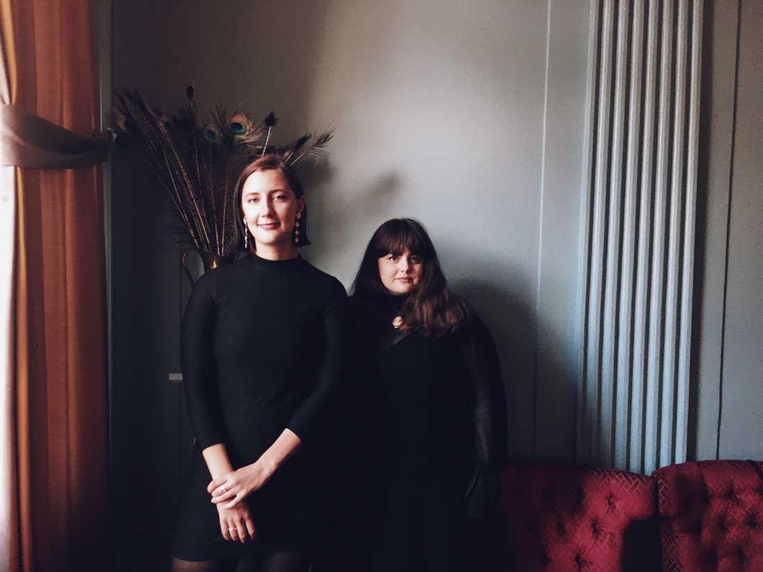 Sara Runesson och Moa Marken flanerar i Uppsala i nya podden Övre Nedre Slotts.