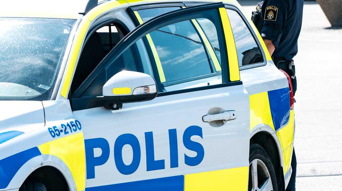 Misstanken mot 18-åringen uppstod när en skola i nordvästra Skåne utrymdes i mitten av maj. Arkivbild.