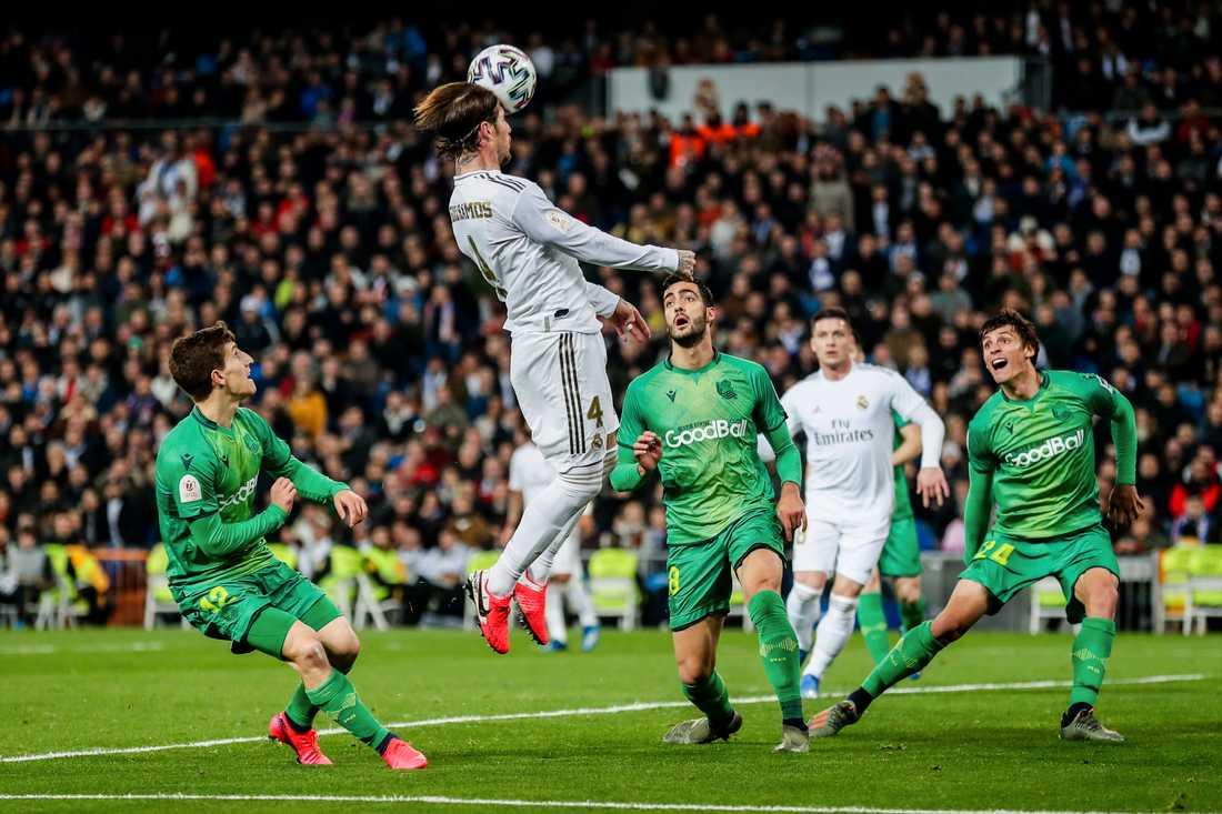 Spelbolaget Kindred som bland annat har spel på fotbollsmatcher har presenterat bokslut. På bilden Real Madrids Sergio Ramos i en match mot Real Sociedad förra veckan.