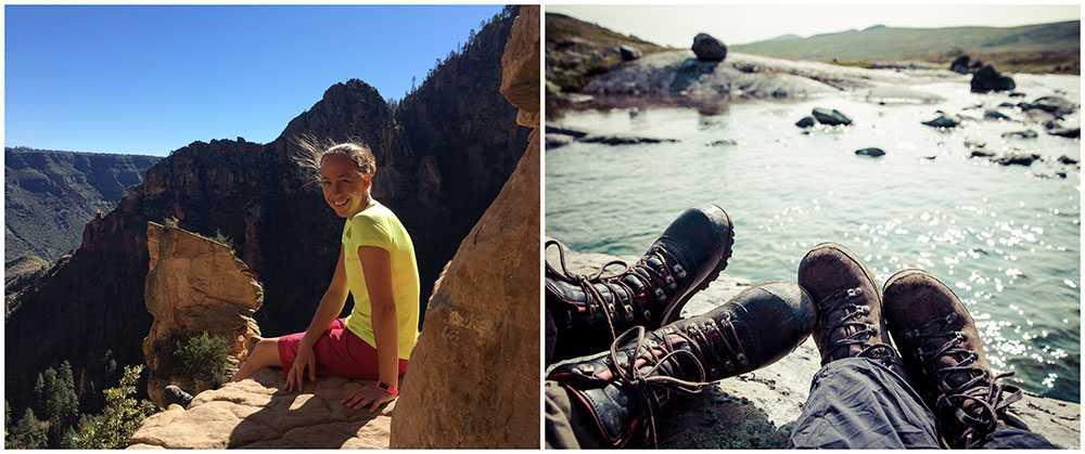 Emma Ising är en van vandrare och är grundare till vandringsguiden.se tillsammans med Jenny Larsson.