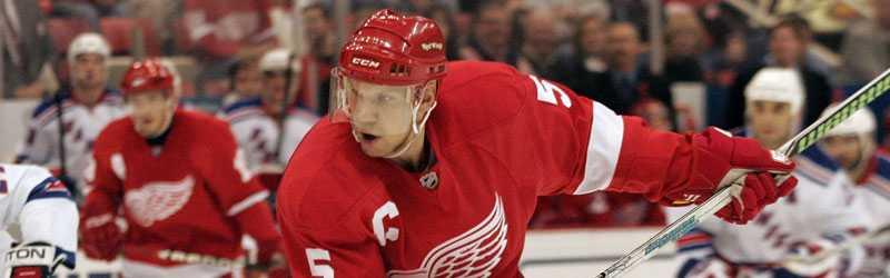 Presidentämne? Vilken NHL-stjärna skulle bli en bra president? Två procent av spelarna i ligan svarade: Nicklas Lidström.