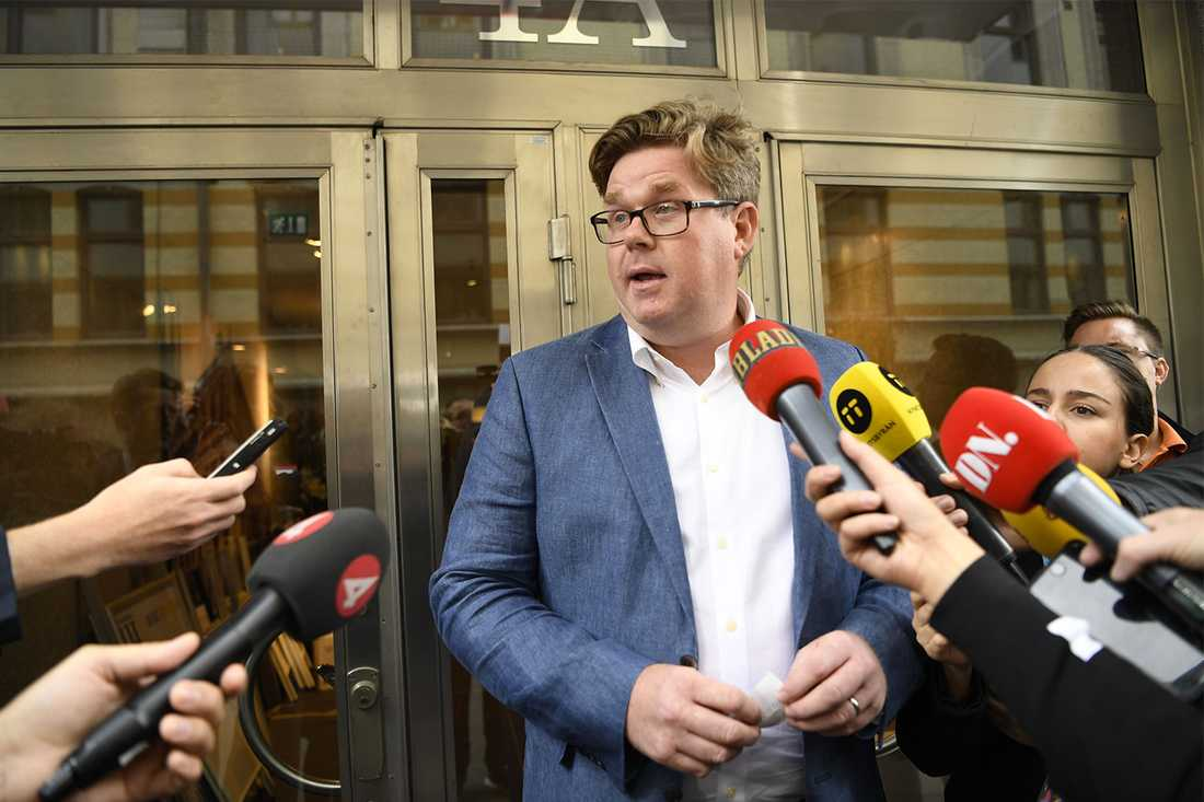 Gunnar Strömmer (M).