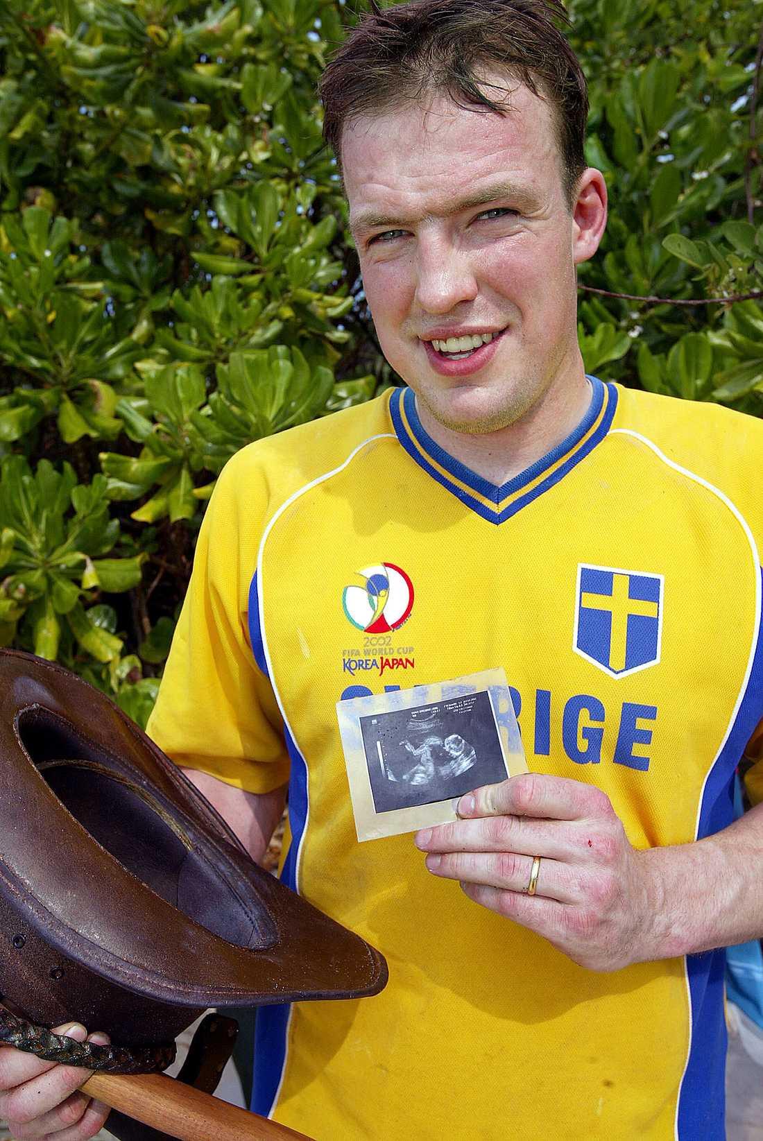Leif Svensson var med 2002 och 2003 och gör nu ett nytt försök.