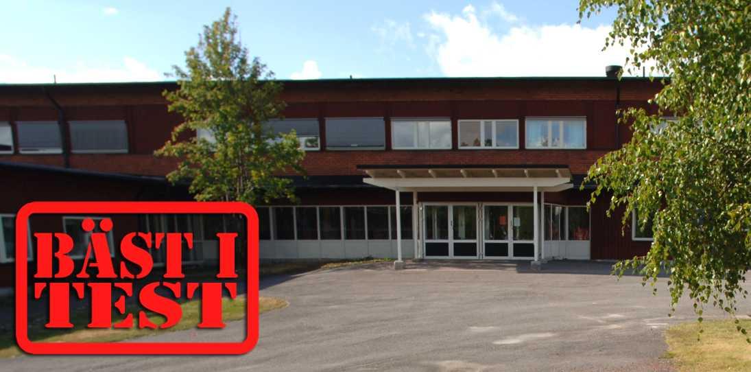 Fridhemsskolan i Arvidsjaur.