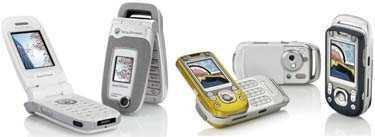 Sony Ericsson satsar på nöje och design.