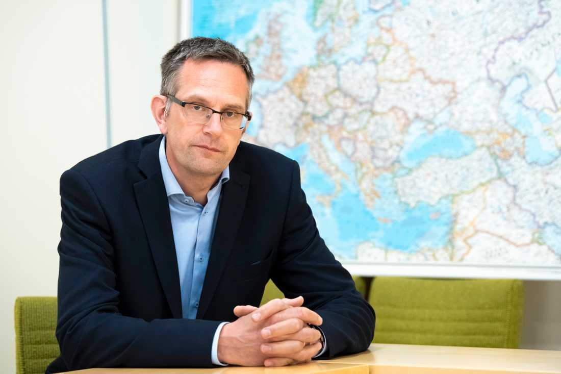Jakob Hedenskog, säkerhetspolitisk analytiker vid Totalförsvarets forskningsinstitut, FOI. Arkivbild.