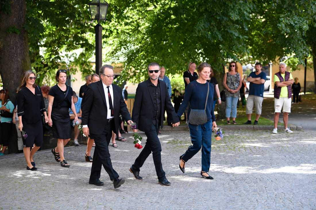 Göran Ragnerstam och Shanti Roney.