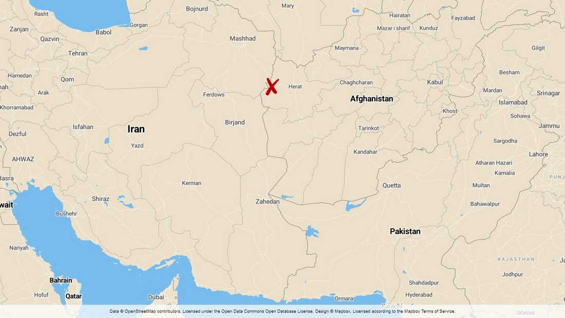 Migranterna som hittats döda längs den iranska gränsen kan ha utsatts för brott. Arkivbild.