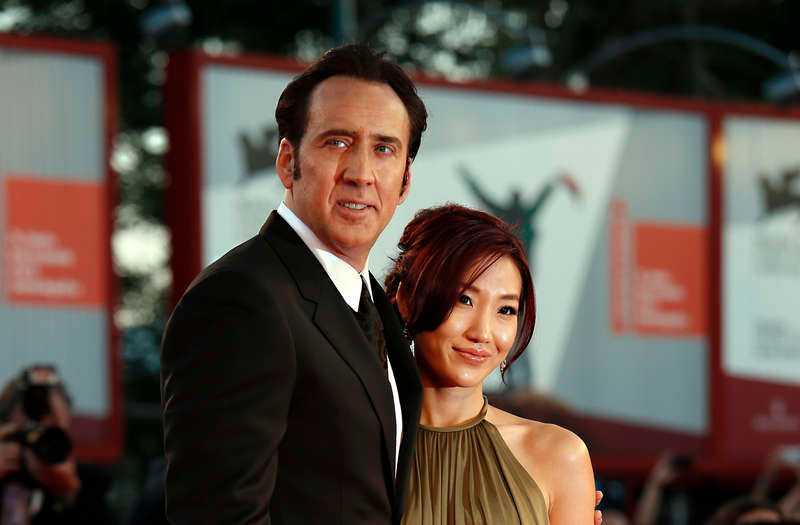 Cage och Kim skiljde sig redan i januari.