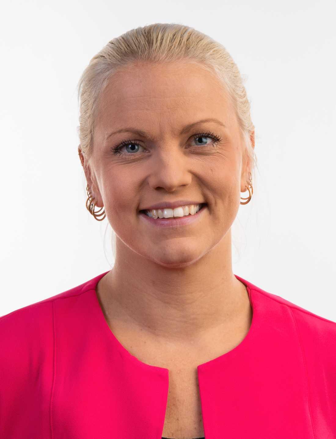 Emilie Pilthammar (M), kommunalråd och vice ordförande för kommunstyrelsen i Sölvesborg.