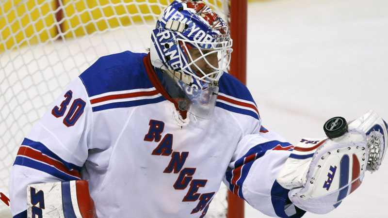 Det blev förlust för Henrik Lunqvists Rangers mot St Louis i natt.