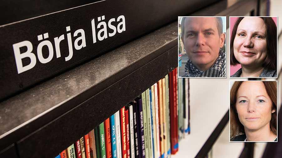 Vi vill att det uttryckligen ska framgå av skollagen att alla skolor ska ha ett skolbibliotek med både tryckta böcker och digitala medier, skriver Gustav Fridolin, Anna Medin och Tove Mejer som lämnar över sin utredning till regeringen i dag.