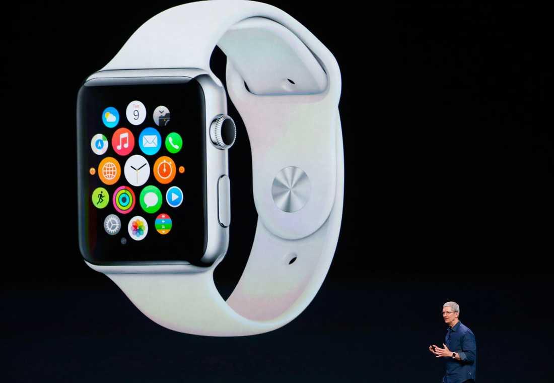 Inte Iwatch men – Applewatch. Klockan kommer fungera med Iphone 6 – men även med 5, 5C och 5S.