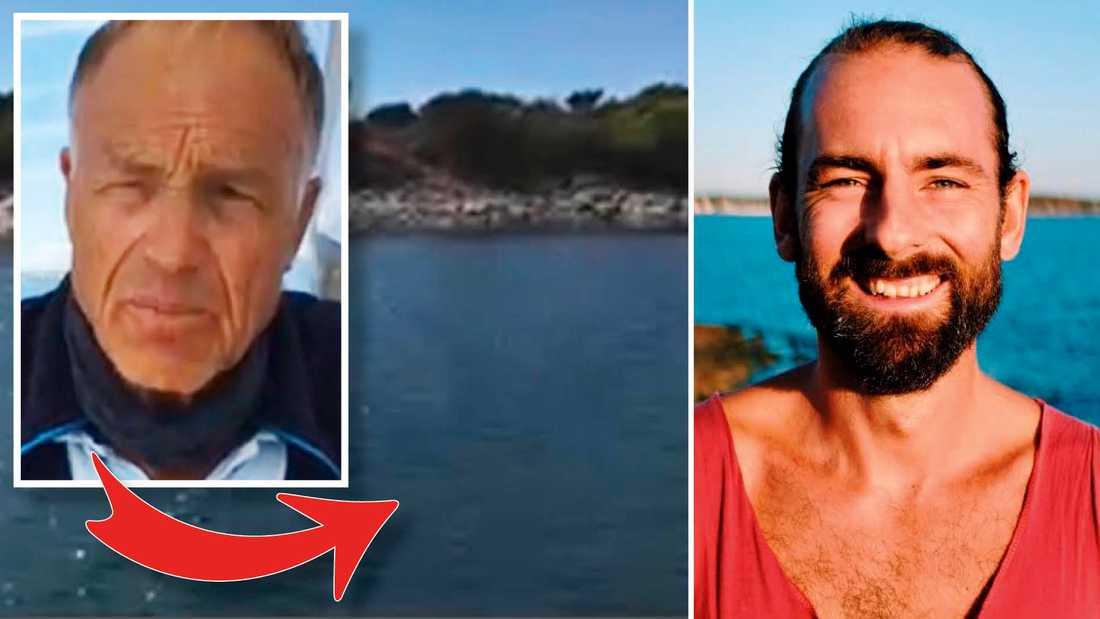 Som tur var för Jan råkade den erfarne dykaren Henrik Hellström vara på plats.