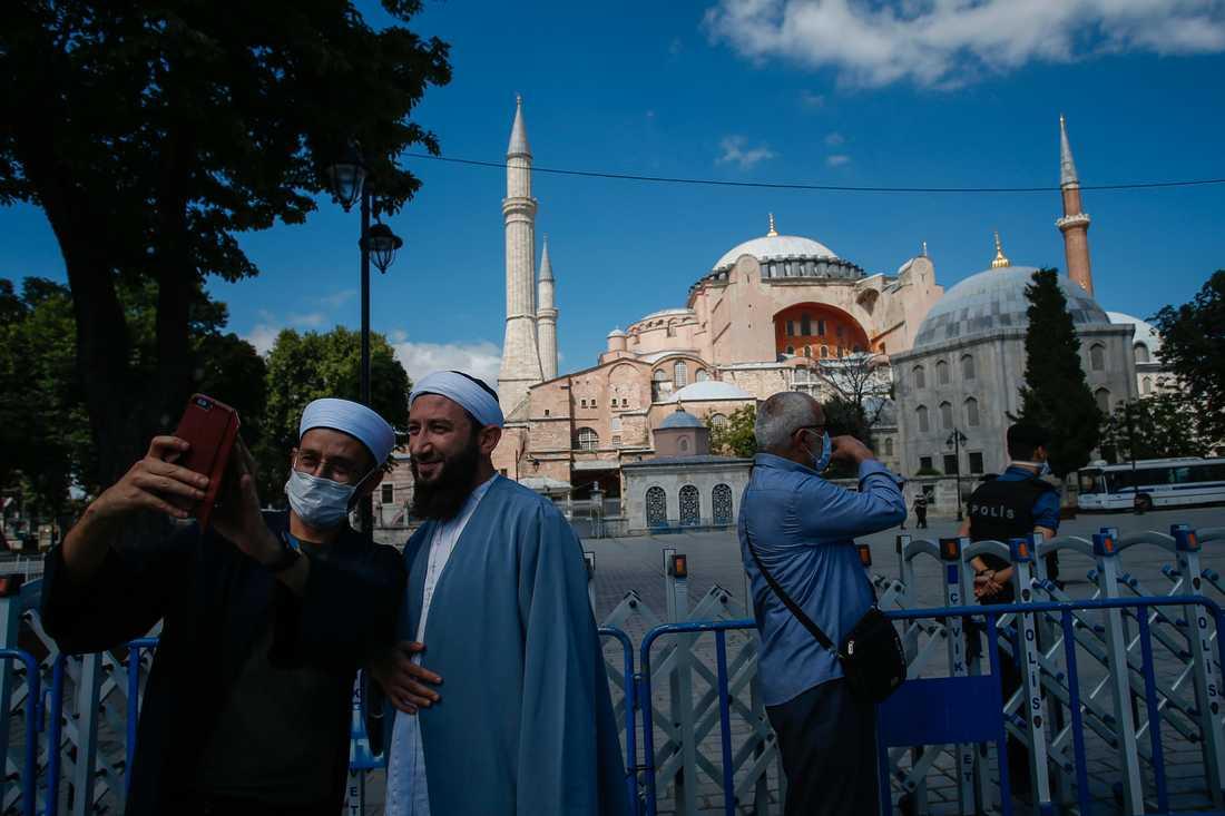 Hagia Sofia i Istanbul.