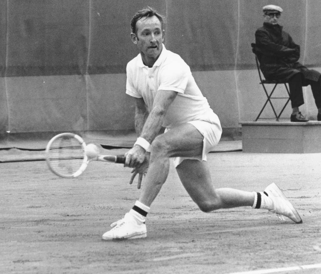 1969, Rod Laver (AUS) Vann över föregående års vinnare Ken Rosewall (AUS) med siffrorna 6-3, 6-3, 6-4.