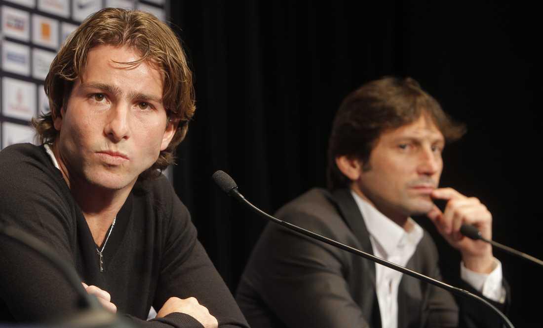 Maxwell spelade bland annat i PSG med Zlatan.