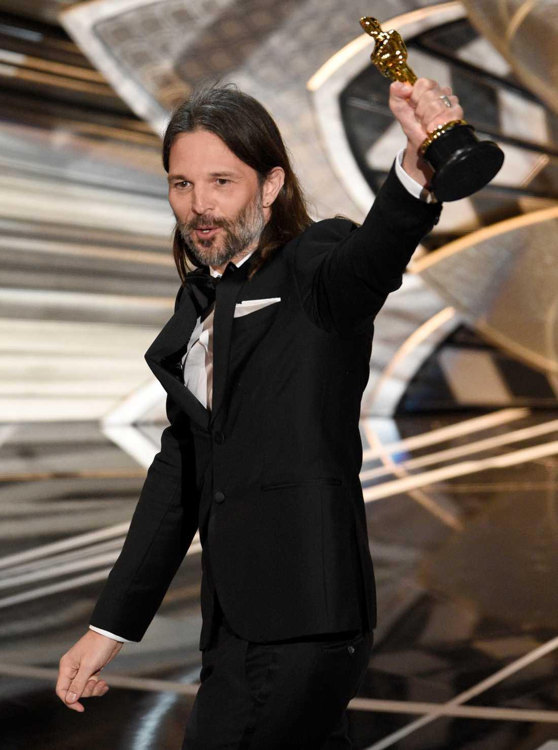 Svenska Linus Sansgren vann en Osckar under galan.