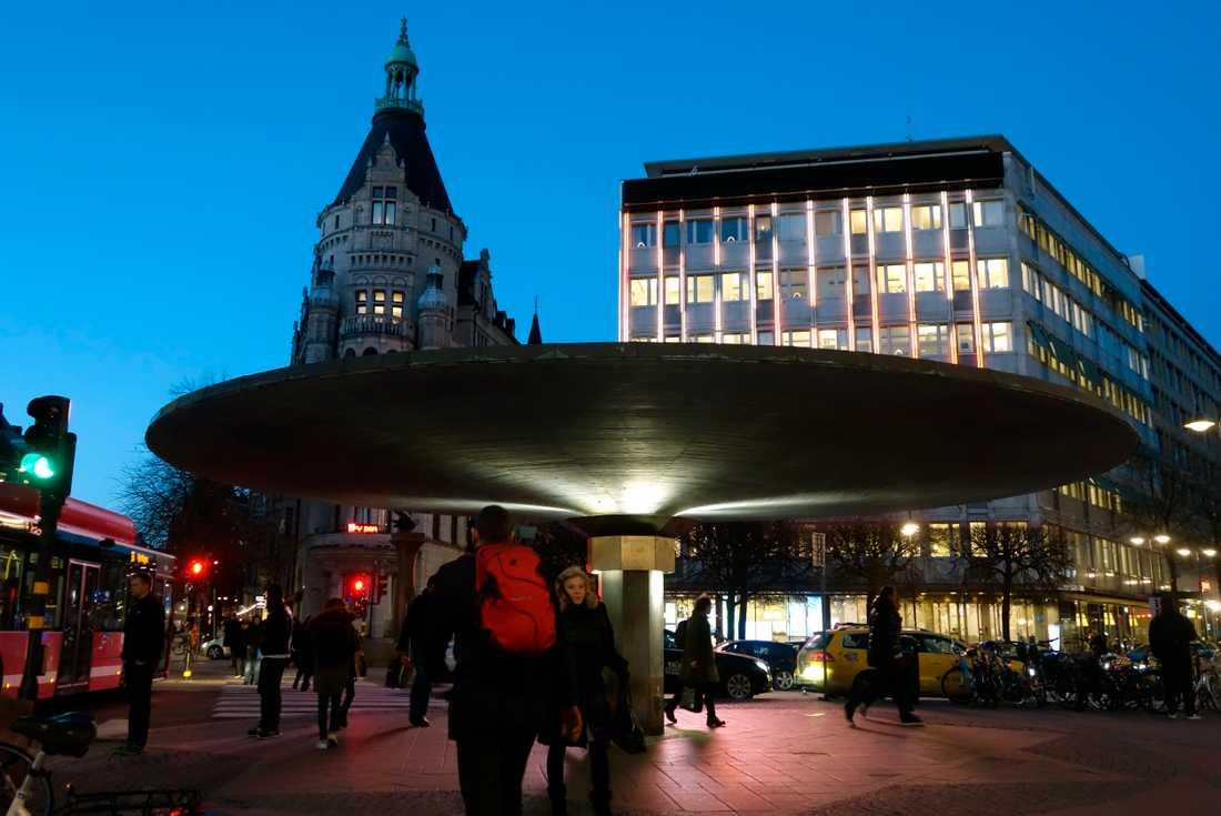 Stureplan i Stockholm.
