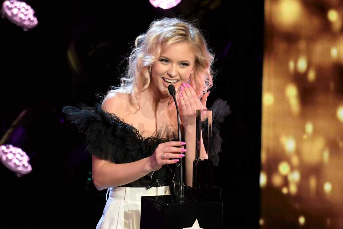 Zara Larsson blev årets artist.