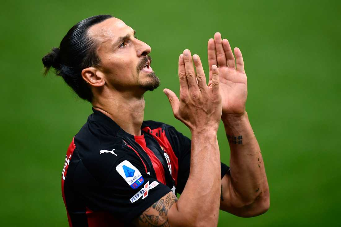 Zlatan Ibrahimovic har fått corona