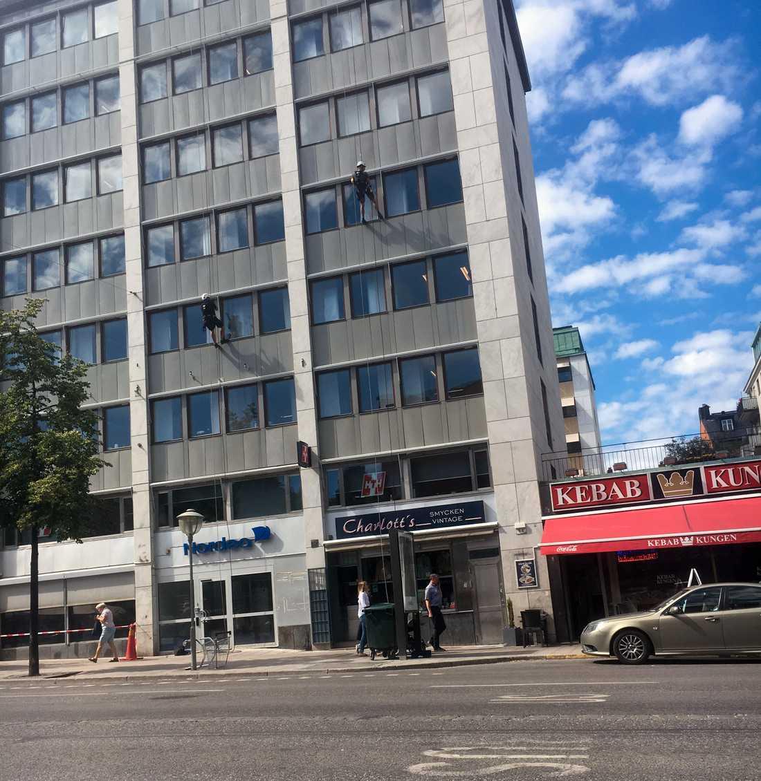 Fastighet som ägs av fackförbunden Byggnads och Kommunal genom fastighetsbolaget Polstjärnan.