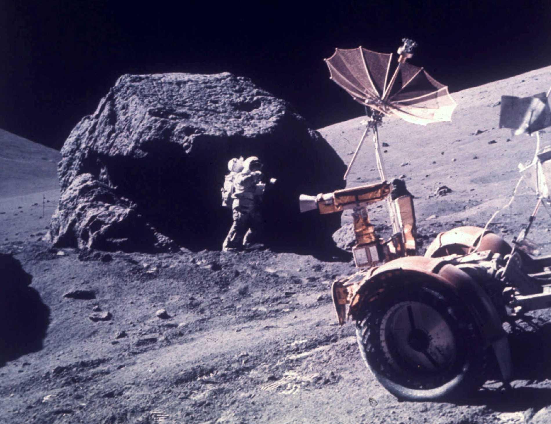 Senast någon satte sin fot på månen var 1972.