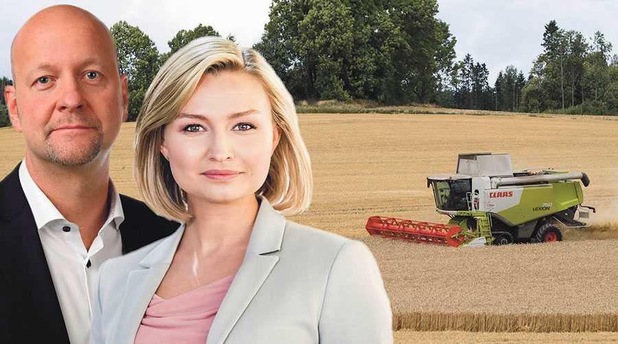 I stället för skam ska Sveriges bönder vara stolta över att de förser oss med mat av hög kvalitet, att de använder minst antibiotika inom EU och följer bland de mest ambitiösa djurskyddsreglerna i världen, skriver Ebba Busch Thor och Magnus Oscarsson.