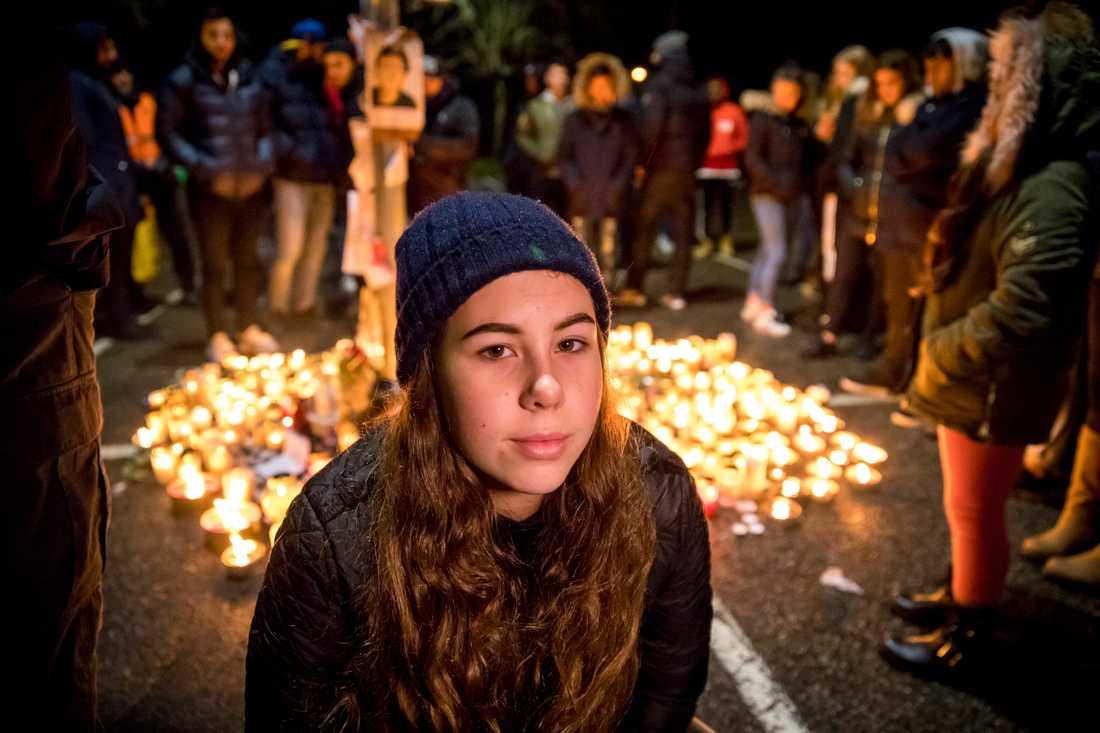 """Daniella, 14 år, var vän med 14-åringen: """"Han var alltid fylld med glädje""""."""