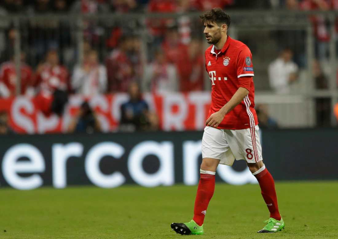 Bayern Münchens Javi Martinez.