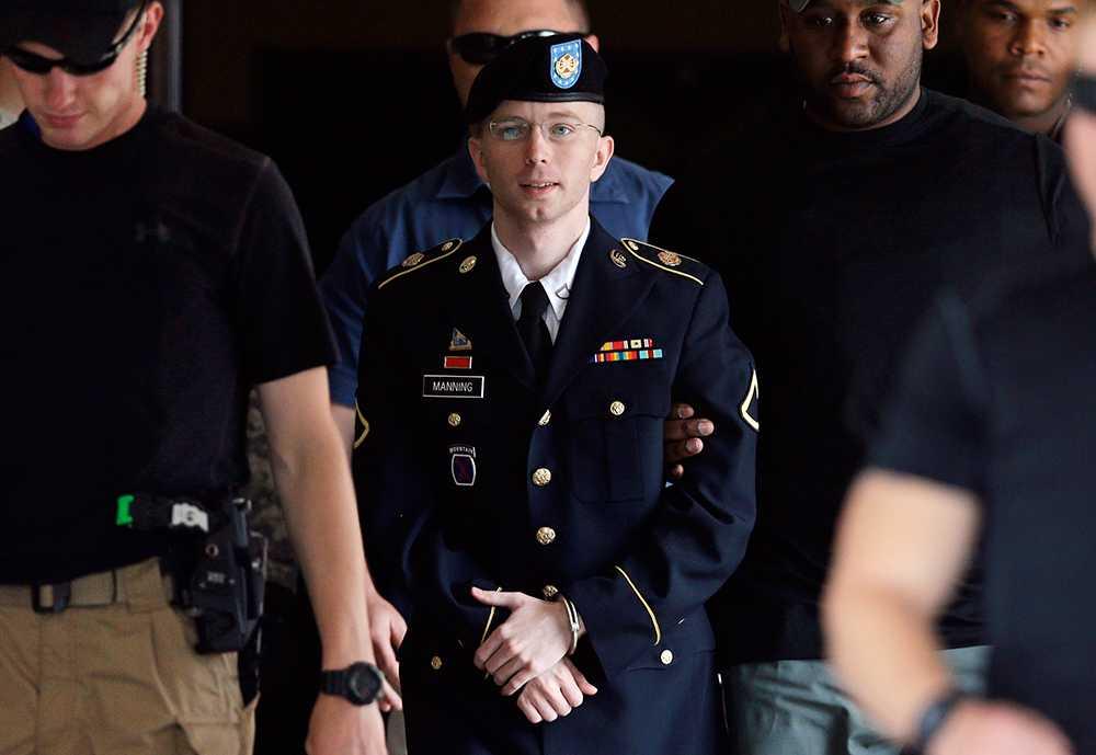 Wikileaksläckan Bradley Manning dömdes för spioneri i förra månaden. Den 21 augusti fick han straffet 35 år i fängelse.