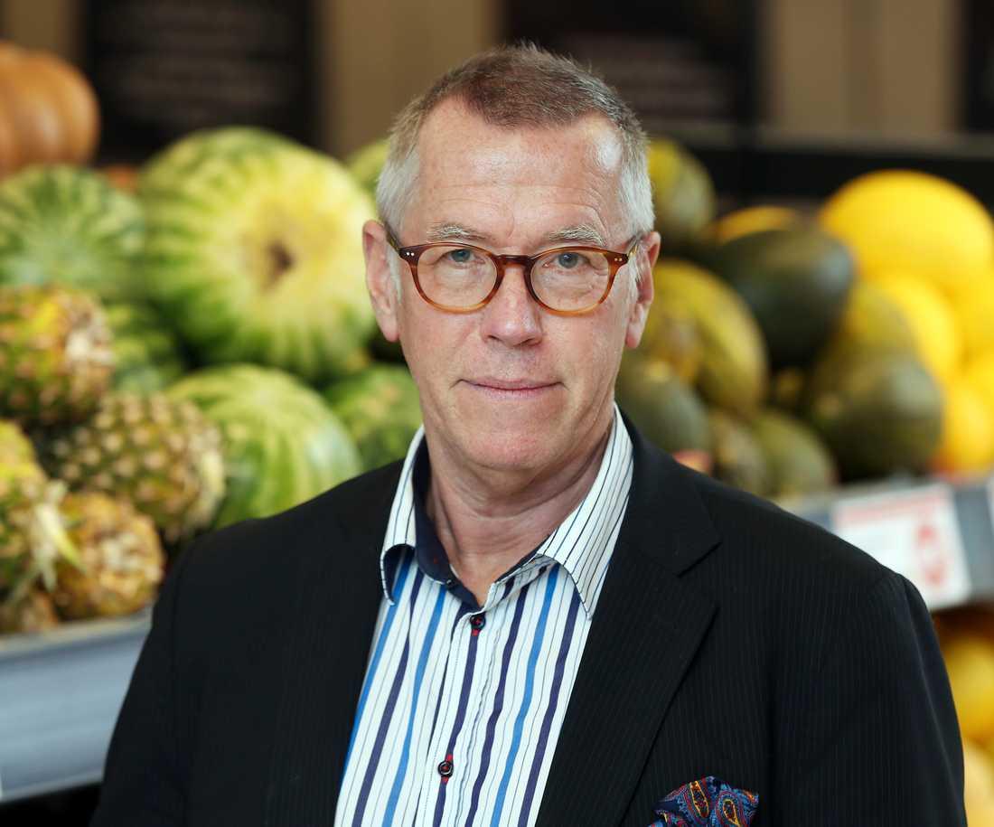 Claes Salomonsson är presschef på Axfood.