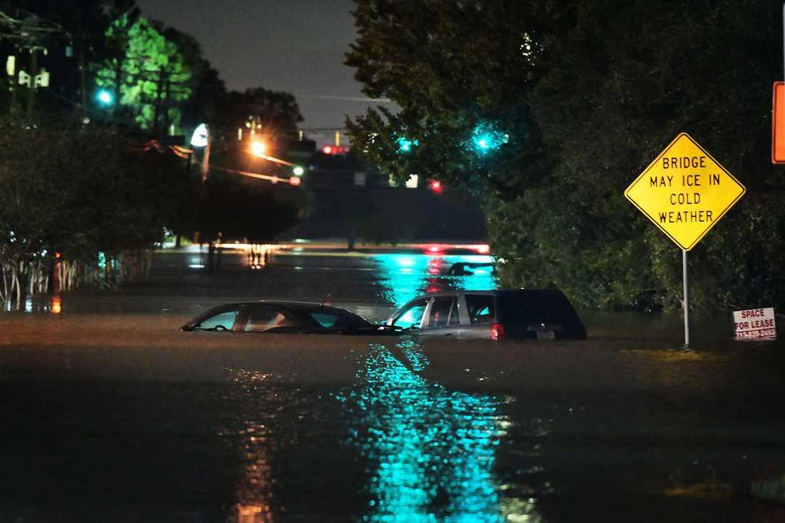 Översvämningar i Texas.