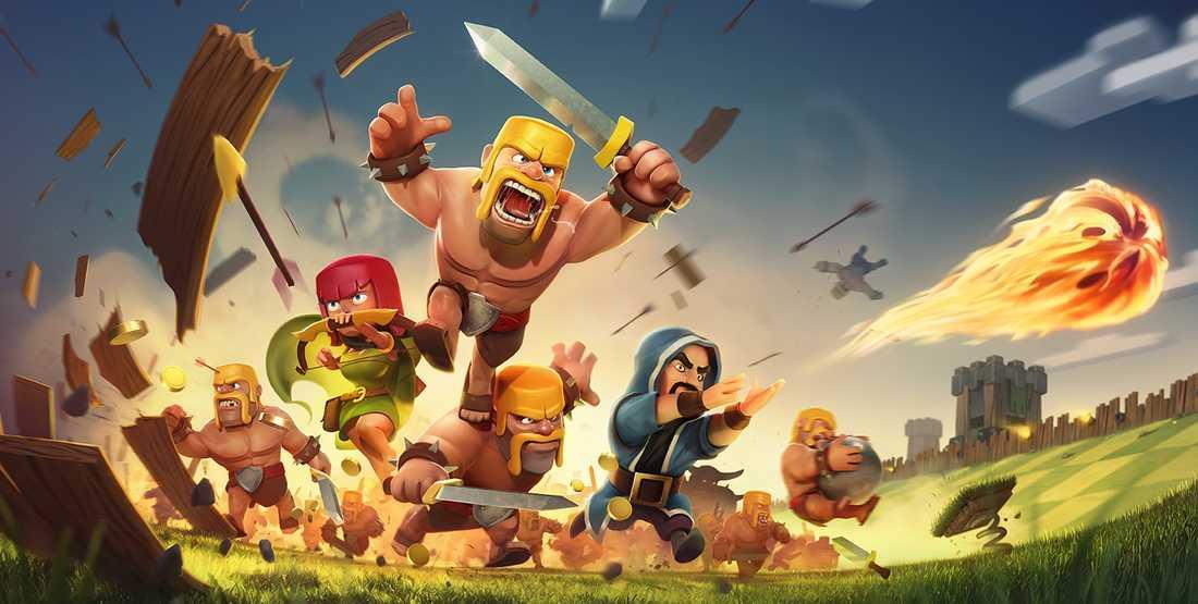 Clash of Clans, ett av spelen som blev en dyr historia för familjen.
