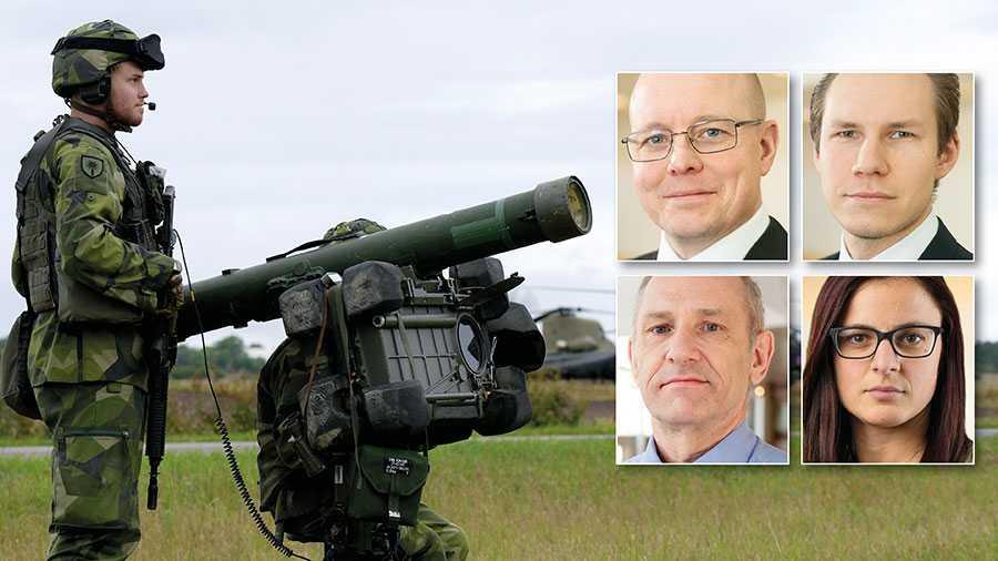 Sverige exporterar avancerade vapen som exempelvis bärbara luftvärnsrobotsystem, som om de kommer på avvägar skulle kunna skjuta ner ett passagerarflygplan med 100-tals döda som följd. Varför riskerar regeringen att oskyldiga kan dö om svenska vapen kommer på avvägar? skriver fyra SD-riksdagsledamöter.