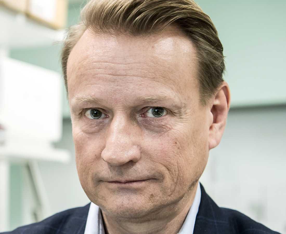 Matti Sällberg, professor i biomedicinsk analys på Karolinska institutet.