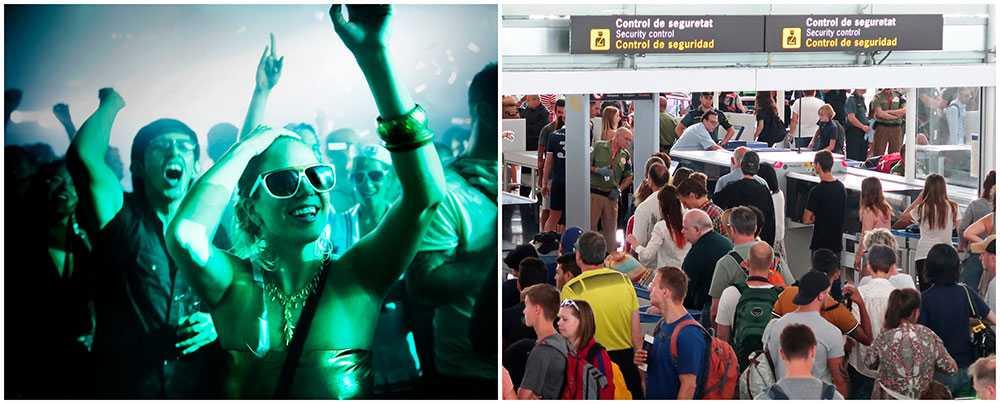 Spanska myndigheter kräver striktare regler för alkoholförsäljning på flyg och flygplatser.