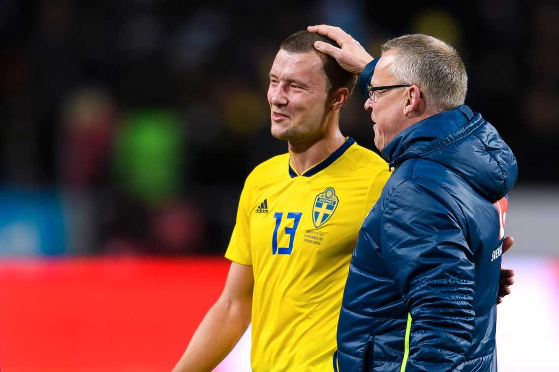 Kvalhjälten Jakob Johansson tillbaka i landslaget