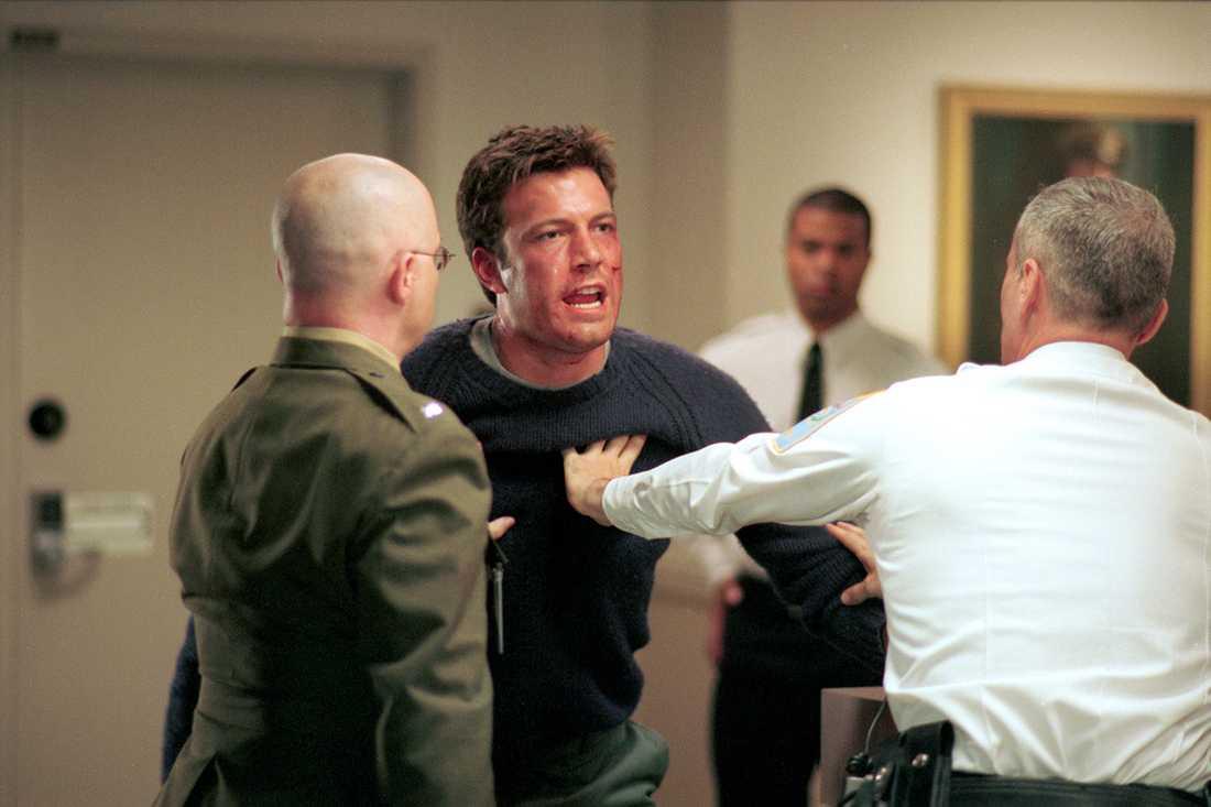 """Filmen """"The sum of all fears"""" (2002) med Ben Affleck i en av rollerna."""